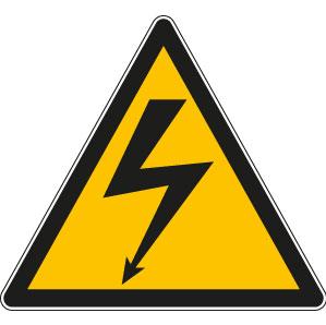 panneau ou autocollant danger lectrique panneaux de signalisation s curit au travail. Black Bedroom Furniture Sets. Home Design Ideas