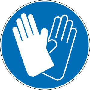 panneaux signalisation santé sécurité travail Gants de protection