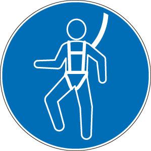 panneaux signalisation santé sécurité travail Harnais de sécurité