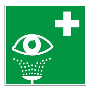 panneaux signalisation santé sécurité travail Rinçage des yeux