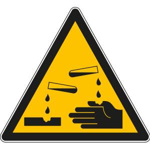 panneaux signalisation santé sécurité travail Substances corrosives