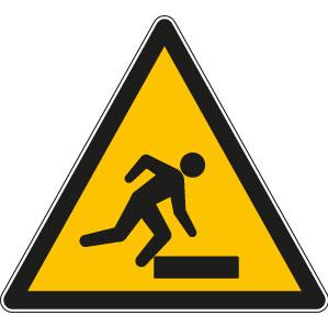 panneaux signalisation santé sécurité travail Trébuchement