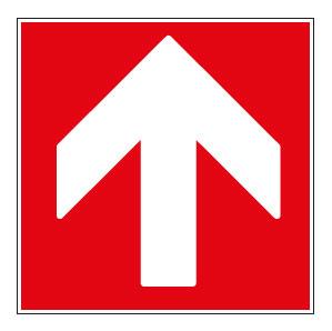 panneaux signalisation santé sécurité travail Directions à suivre : haut