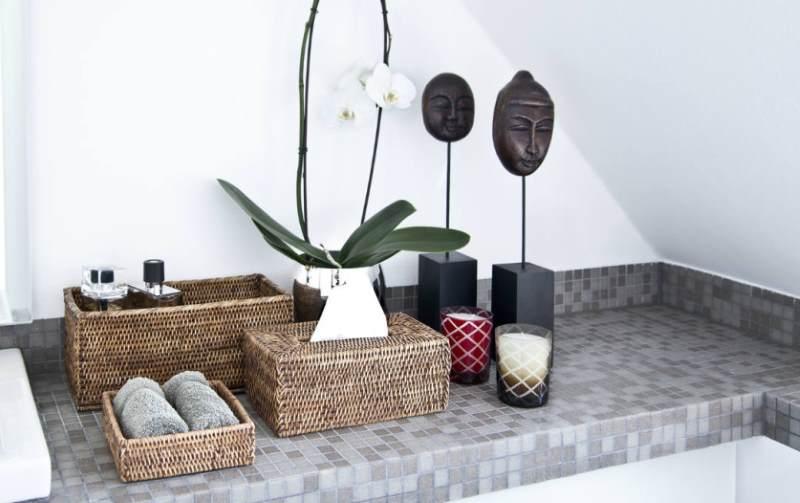 Arredo bagno come tenere in ordine il bagno idee design - Cestini all uncinetto per il bagno ...
