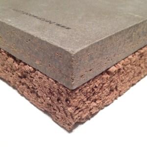Sistema per isolamento termico in sughero e cementolegno