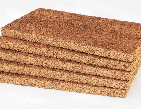 Pannelli in sughero biondo Cork Panels spessore medio