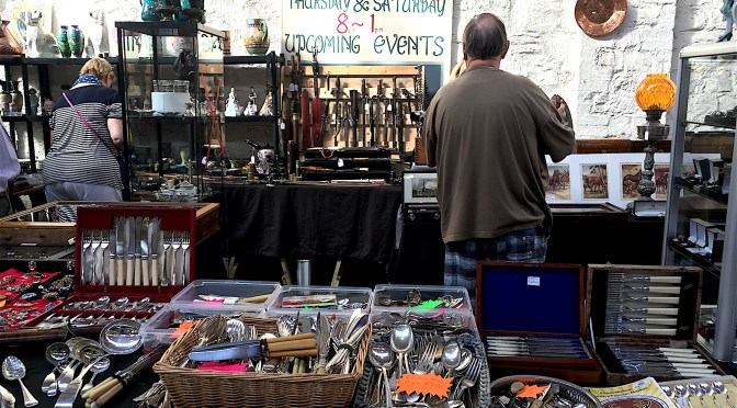 Antiques Market this Sunday 16th October 2016 in The Pannier Market, South Molton – #ndevon #devon