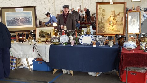 Buy Antiques in South Molton Pannier Market