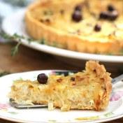 Best Mother's Day Brunch Recipes: onion tart