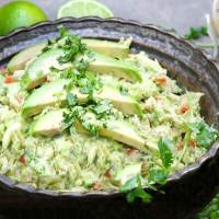 Venezuelan Avocado Chicken Salad: No Mayo
