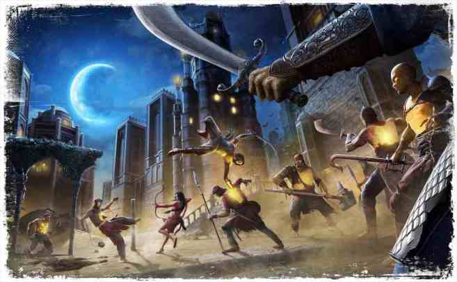 Prince Of Persia The Sands Of Time Remake Game