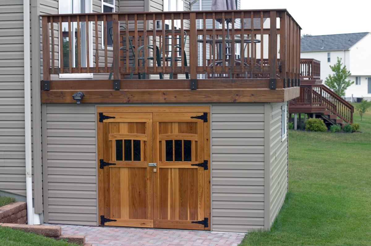 Enclosing Under A Deck Ideas