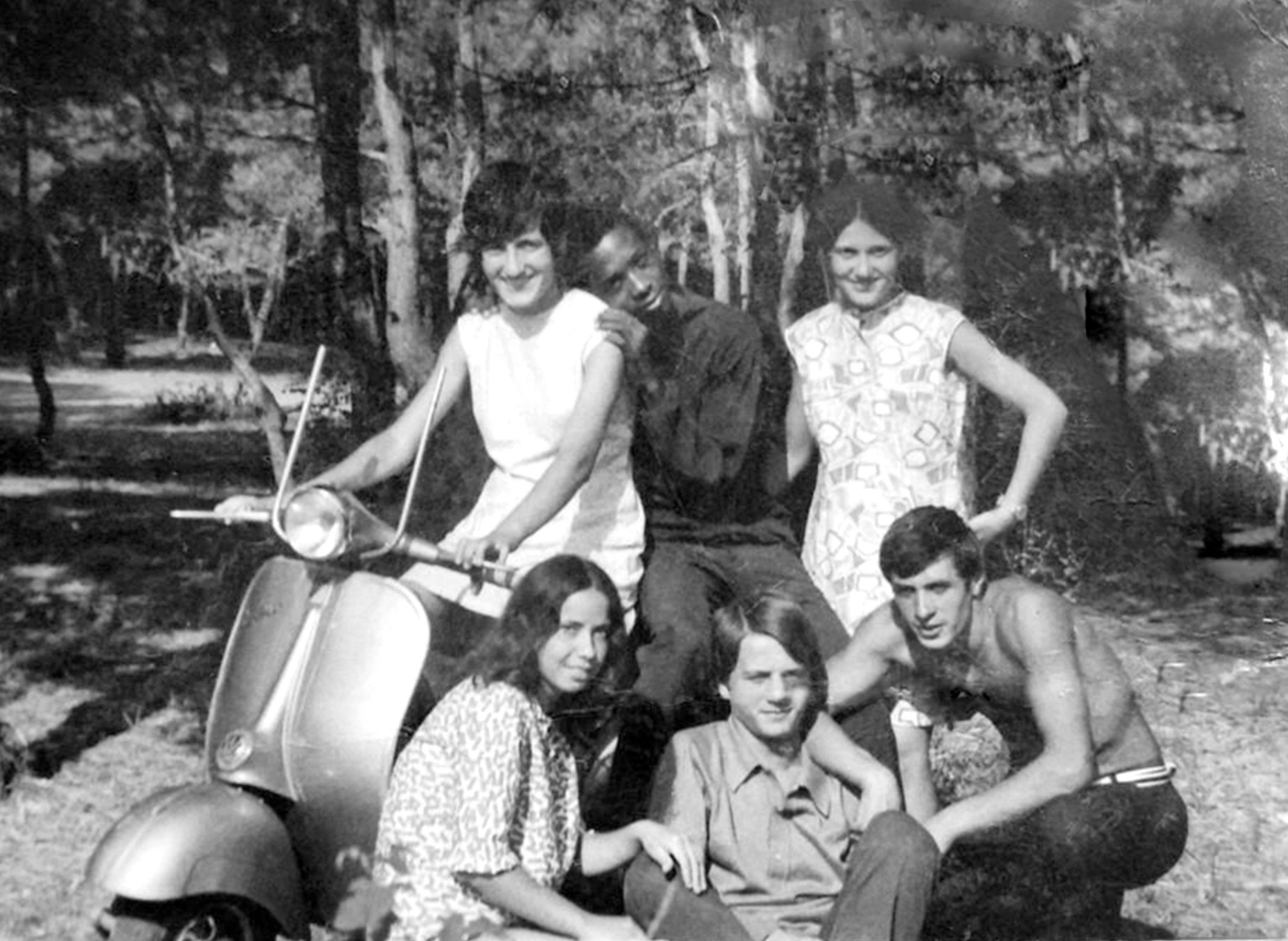Yrben ne Lezhe ne vitet 70-te, me shoket e klases