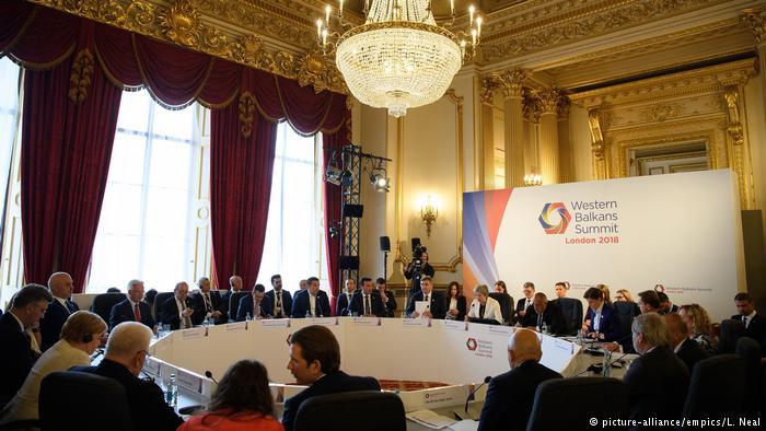 Samiti i Ballkanit Perëndimor, Londër korrik 2018