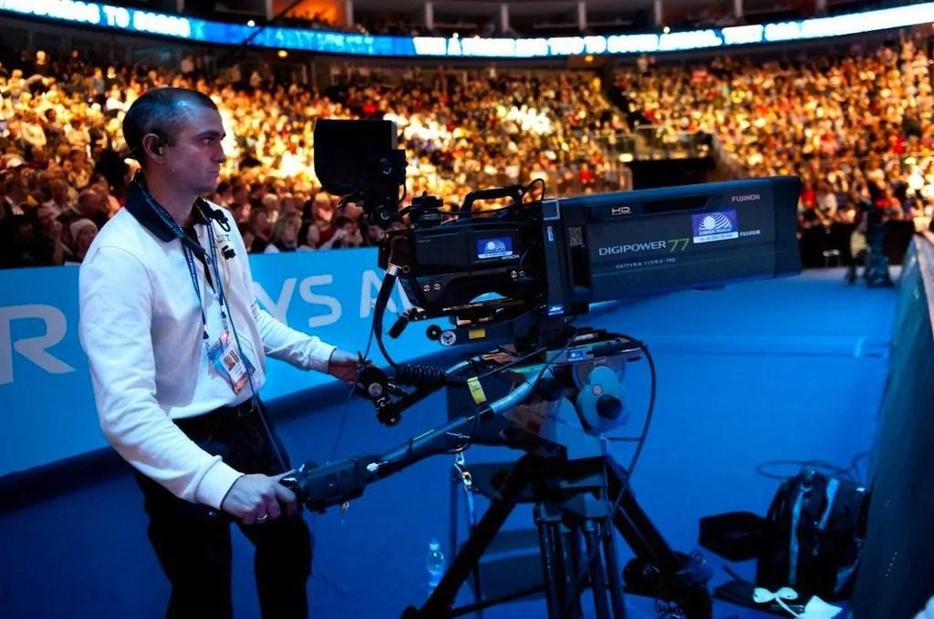 Cmaras Hitachi en el Masters Final ATP