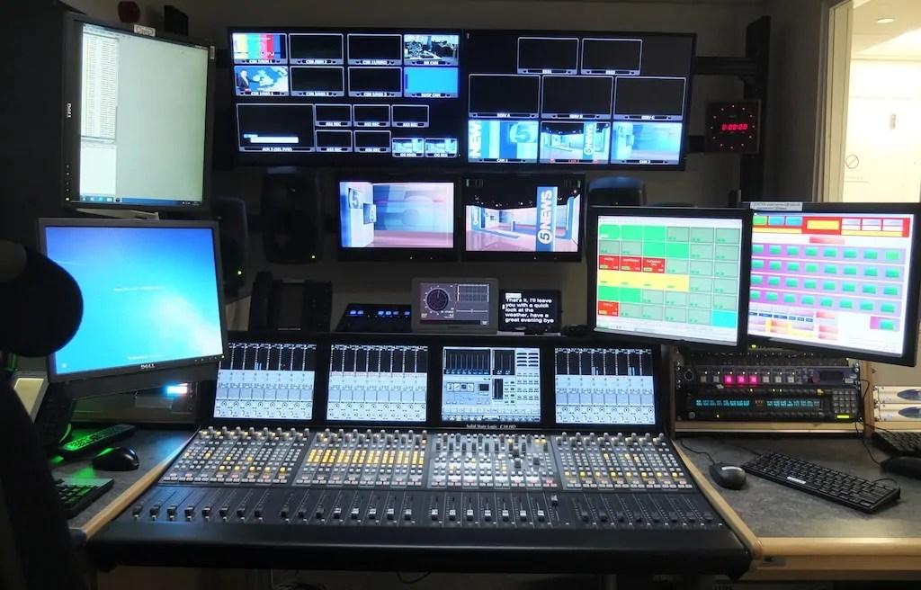 ITN emite sus informativos con la consola compacta C10 HD de SSL