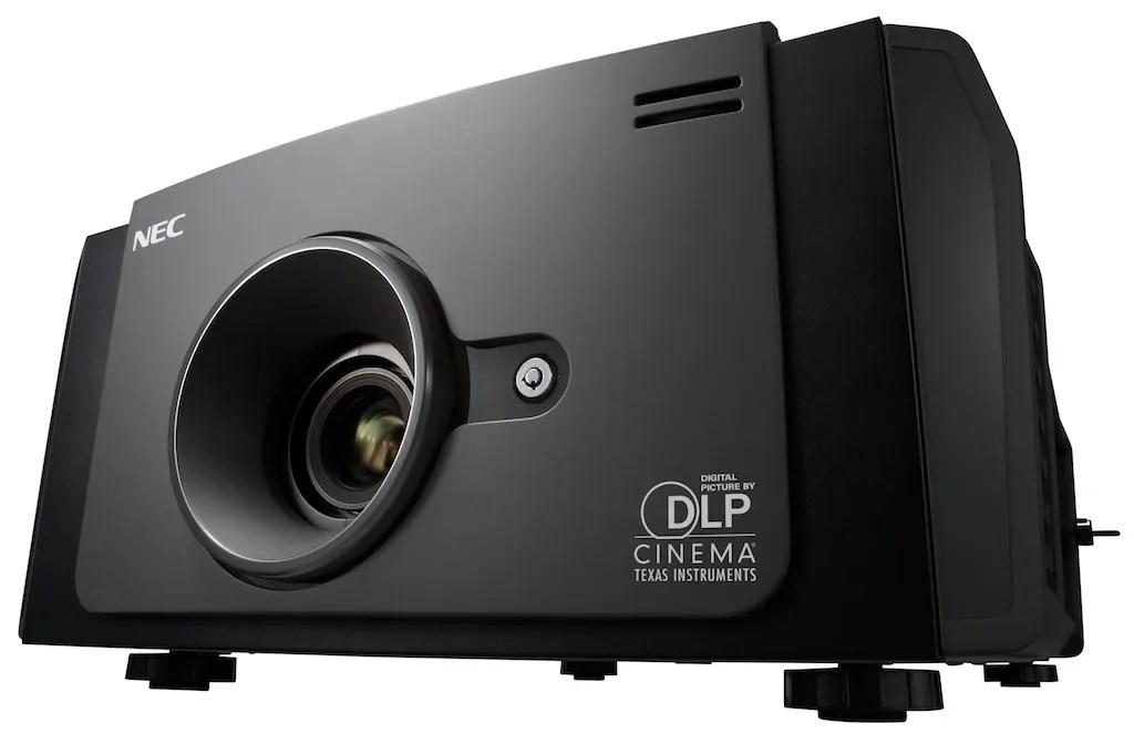 NEC presenta en CineEurope 2013 su primer proyector para