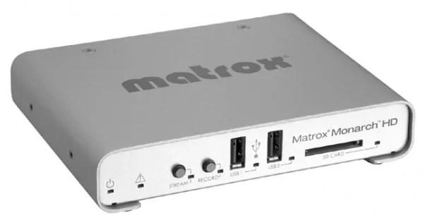 Matrox MonarchHD