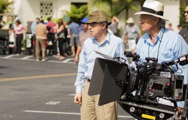 Woody Allen y Vittorio Storaro ruedan con Sony F65 (Foto: Gravier Productions / Sabrina Lantos)