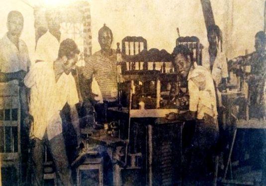 Aspecto de los talleres donde hacían labores los Internos de la Carcel de Valledupar / Foto: archivo Yarime Lobo