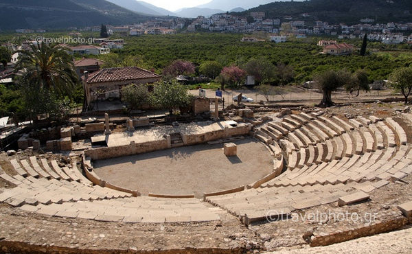 ancient epidavros little theater