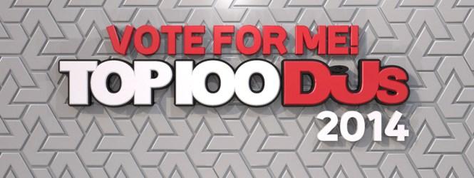 """Vota por tus Djs en """"Top 100 DJs 2014"""""""