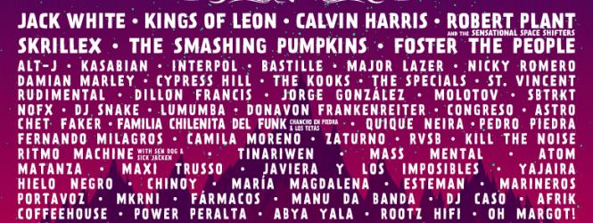 Lollapalooza Chile 2015 Anunció LineUp