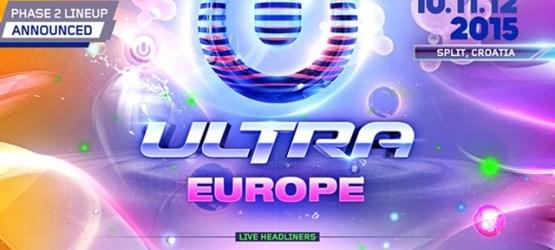 NUEVAS CONFIRMACIONES DE ULTRA EUROPE 2015