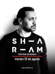 La Feria presenta: Sharam – Viernes 25 de Agosto