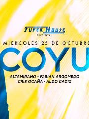 Super House presenta @ Coyu en Chile