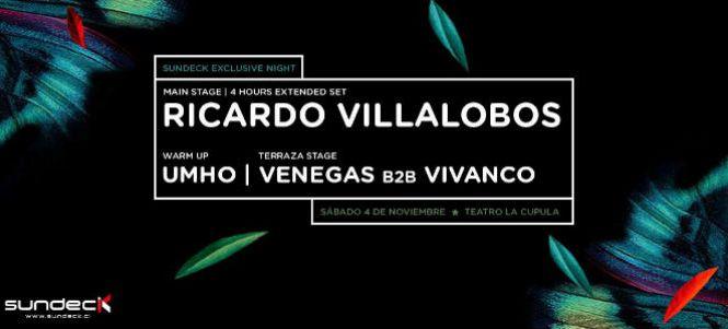 Ricardo Villalobos Extended Set | Sundeck