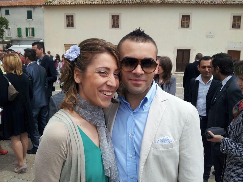 Elisa Eserciti e Alessandro Quida sposi