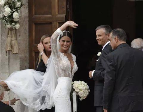 matrimonio mattia destro e ludovica caramis