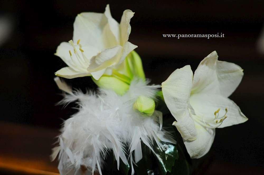 fiori per matrimonio panche in chiesa