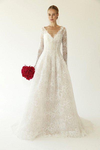 Popolare Matrimonio in inverno, idee per gli abiti da sposa invernali SM38