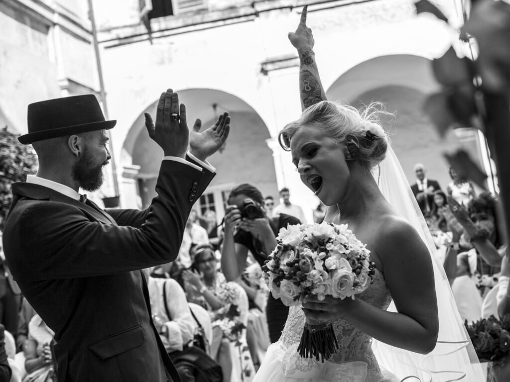Serena e Denny finalmente sposi