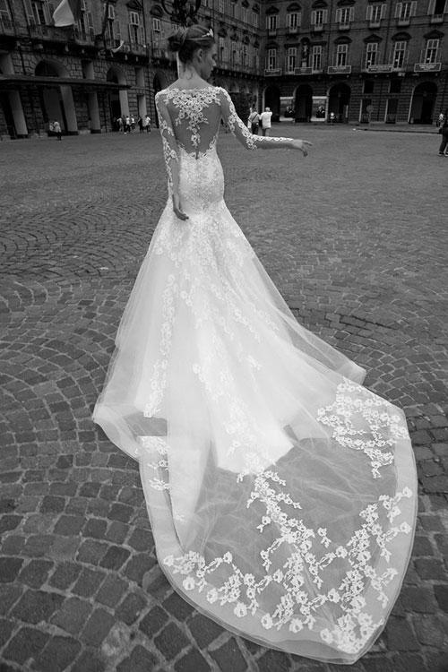 Abito da sposa a Sirena, Alessandra Rinaudo 2016