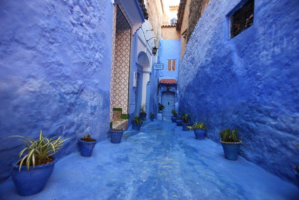 Viaggio di nozze in Marocco, Chefchaouen