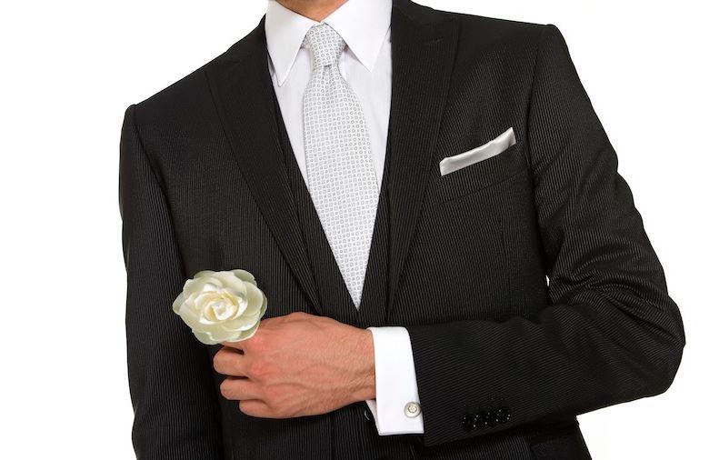 abito da sposo uomo completo