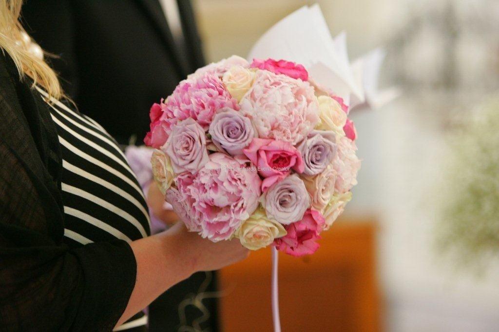 Il regalo della suocera, il bouquet