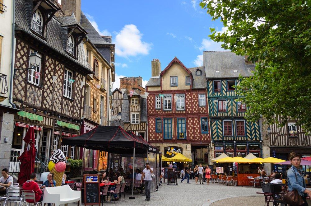 Viaggio di nozze in Francia, la romantica Rennes