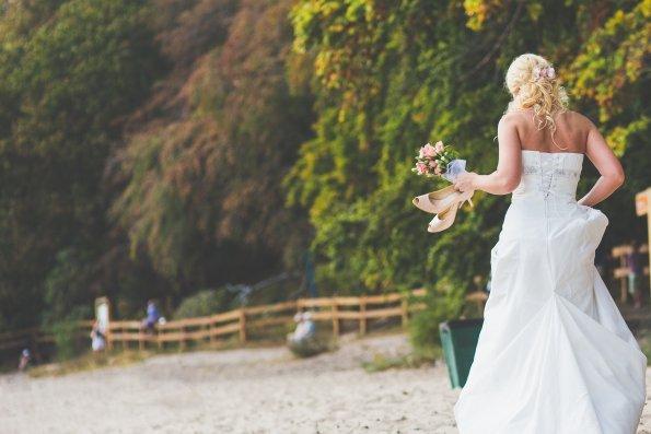 sposa sulla spiaggia