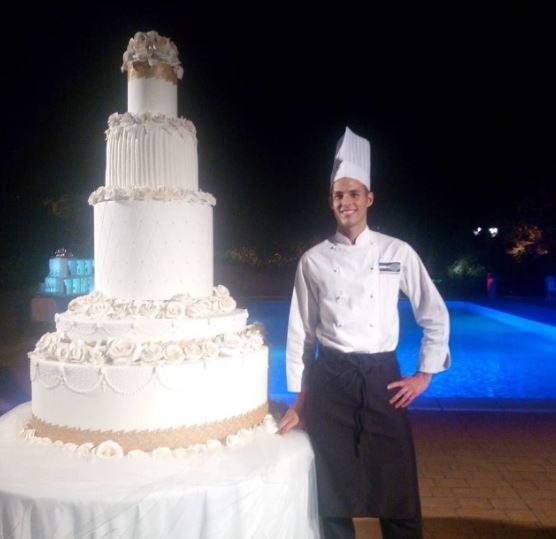 martina stella matrimonio torta nuziale