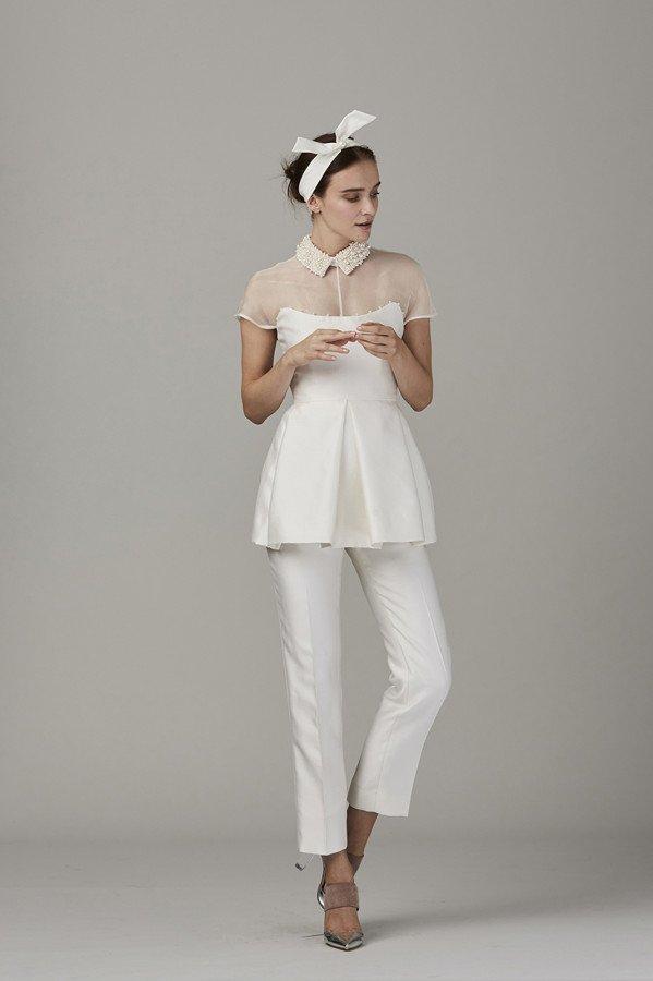 abito da sposa pantaloni