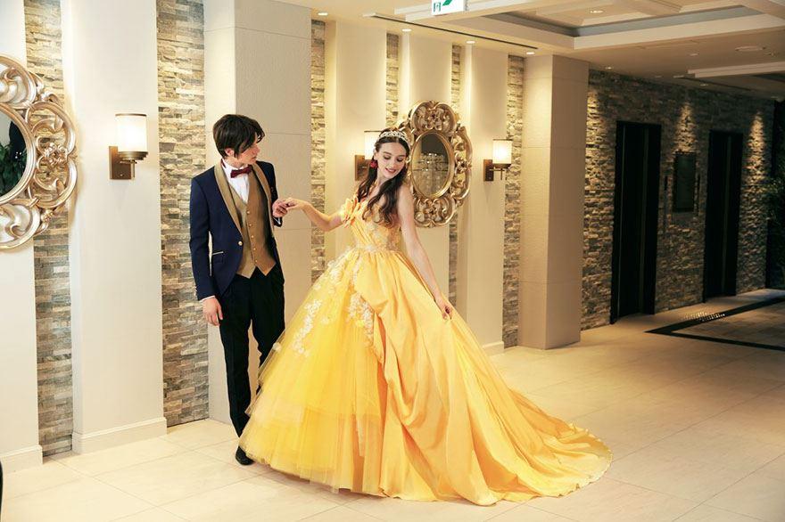 abito da sposa principessa disney