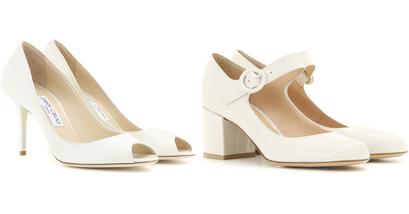 scarpa tacco block sposa jimmy choo