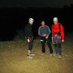 Comenzamos la escalada de noche