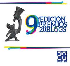 9ª edición Premios 20blogs
