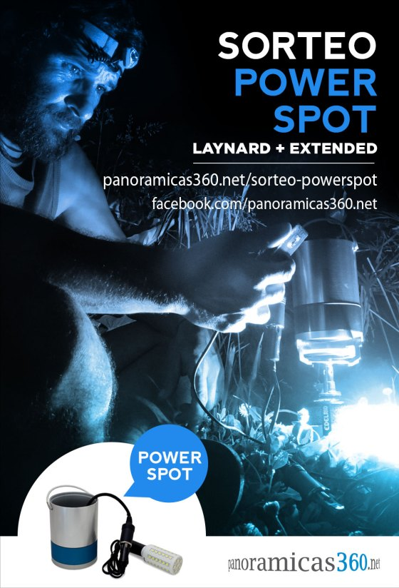 Sorteo PowerSpot Laynard + extended