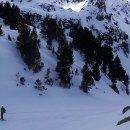 Esquí de montaña en el valle de Arán. Ascensión al Montardo